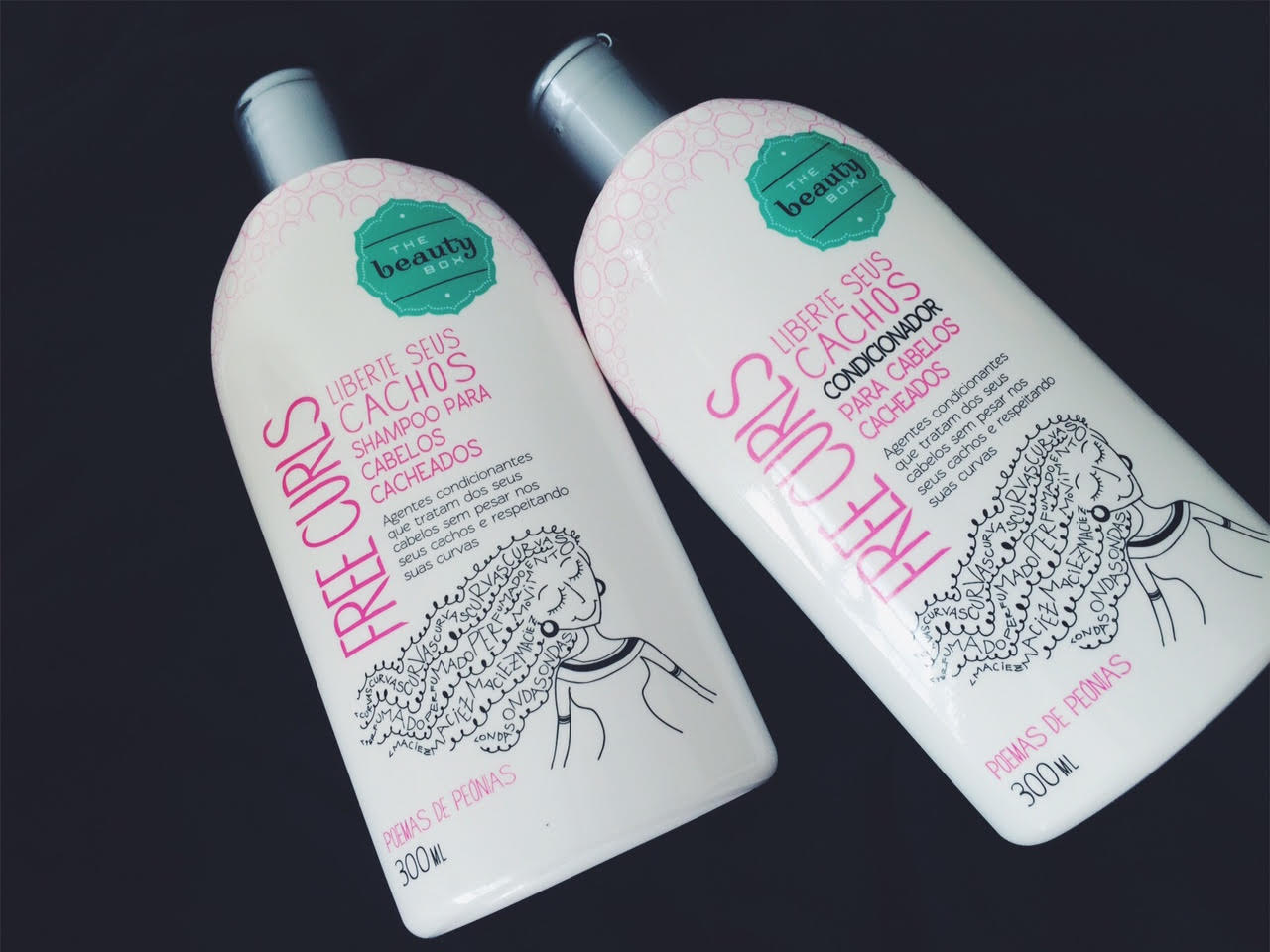 REVIEW: Shampoo e Condicionador Free Curls The Beauty Box